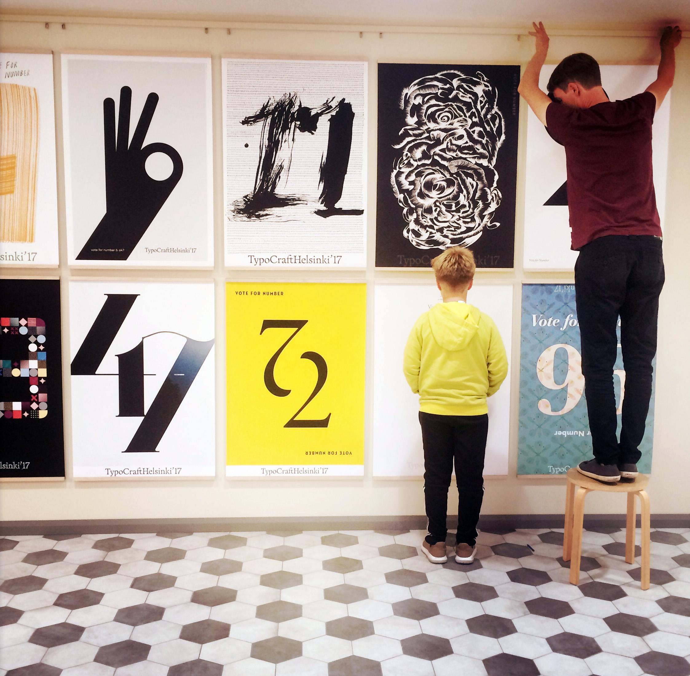TypoCraftHelsinki\'17 opens with poster exhibition | TypocraftHelsinki